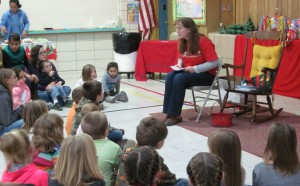 Story Time at our Country Christmas!